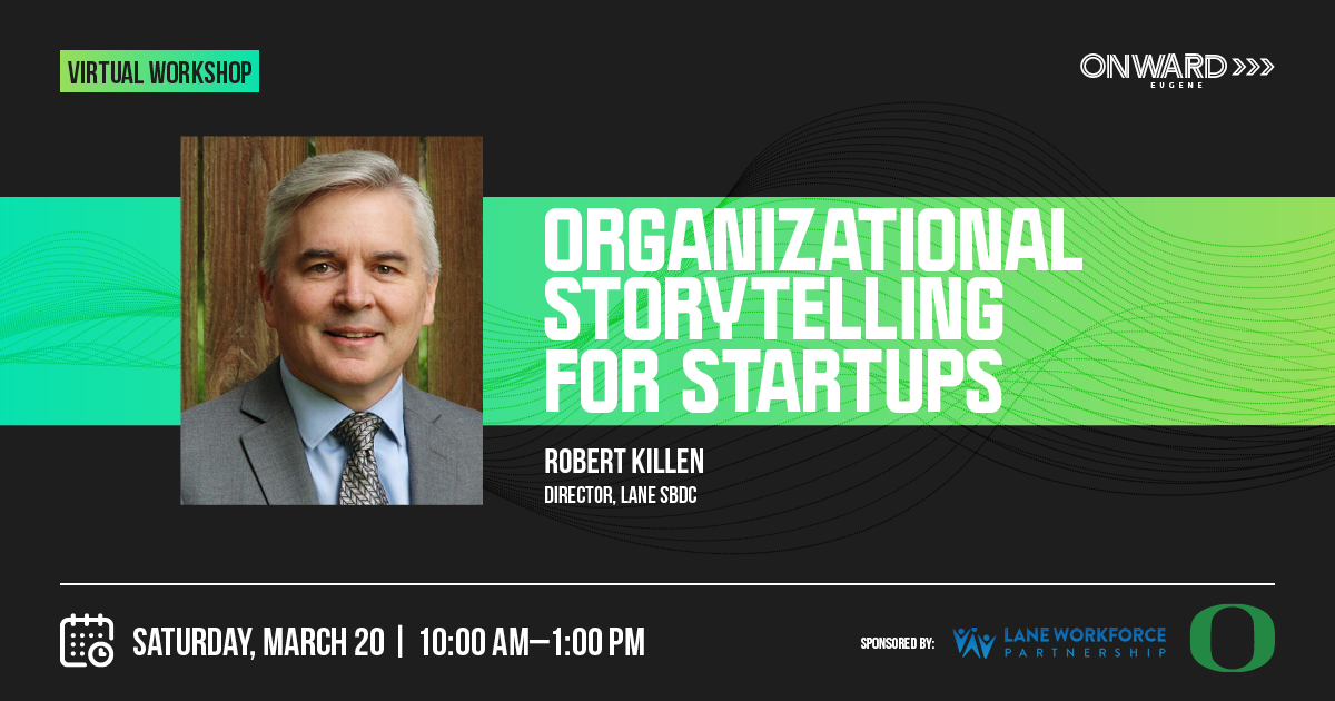 Organizational Storytelling is too often perceived as a soft skill or an elective strategy. It is neither. Stories establish your culture, provide clarity and both express and evoke confidence. Storytelling is an essential skill for businesses at any stage, but even more so for the Startup.